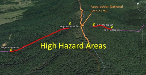 AT and High Hazard zones